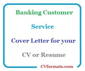 Experienced customer service representative cover letter